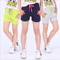 Children outwear kids casual short pants candy color girls short hot summer boys beach pants kids clothing summer outwear clothe