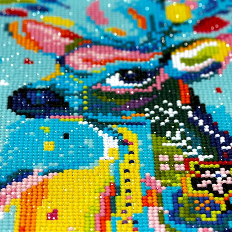 DIY Diamond Painting Cross Stitch Sewing Wire 5D Diamond Mosaic Diamond Embroidery All Children Beautiful Fairy Tale