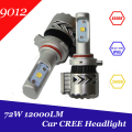 Super Bright 12000lm 9012 HIR2 Xenon White 6500K Car LED Headlight Conversion Kit Cree XHP-50 Chip Daytime Running Lights Bulb