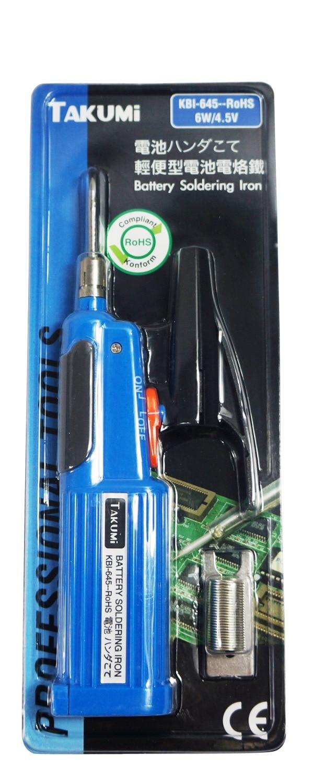 Battery soldering iron KBI-645 6w 4.5v электрический паяльник takumi 645 6w 4 5v takumi kbi 645