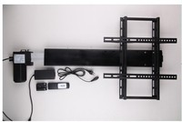 TV stand TV mount 110 240V AC input 550mm stroke with remote and controller and mounting bracket parts