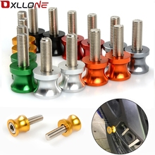 YOWLING New Green CNC M8 Motorcycle Stand Screw Swingarm Spools Slider 8MM Fit For KAWASAKI Z650 Z 650 Year 2017 High Quality