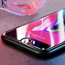 цена на KASCEN Transparent HD Tempered Glass For iPhone 8 Plus Explosion-proof Anti Blue Light Screen Protector Cover Film For iPhone 8