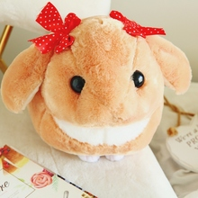 Soft Rabbit Lop Plush Toy 30/40 Cm Stuffed Animal With Little Bowknot For Childrens Day Gift Or Bedroom Decoration