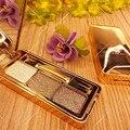3 Color Super Brillante Sombra de Ojos Conjunto Cosméticos Maquillaje Resistente Al Agua Duradero de Diamante de Color Maquillaje de Sombra de ojos Shimmer Mate