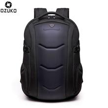 OZUKO Fashion Backpack Men Teenager 15.6 inch Laptop Backpacks Male Schoolbag Men Travel Bags Mochilas Waterproof Oxford
