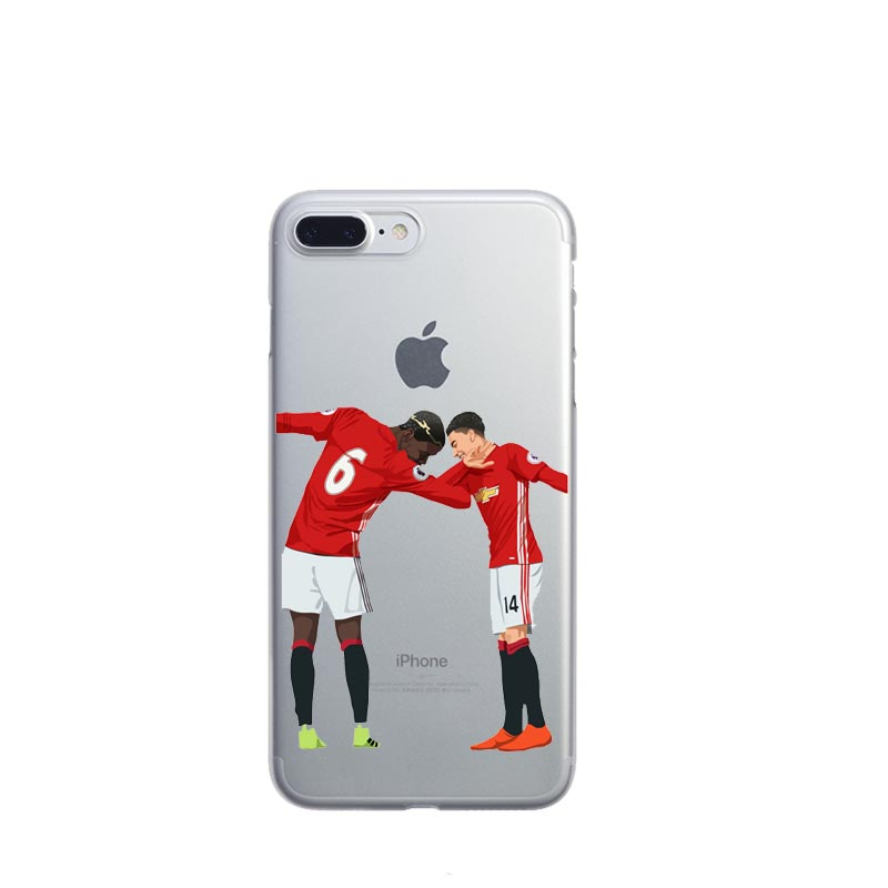promo code d8ead 18eec US $2.39 |Clear Soft TPU Phone Case Cover For iphone X 6S 7 Plus Silicone  Coque Sport Football Soccer Star Cristiano Ronaldo Messi pogba-in ...