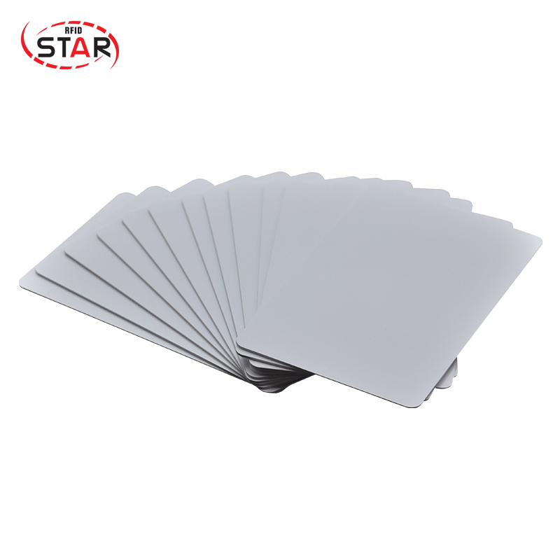 100pcs/lot free shipping Waterproof Clear 125khz pvc Plastic Rfid Card Tk4100 In Stock for Hotel door lock system