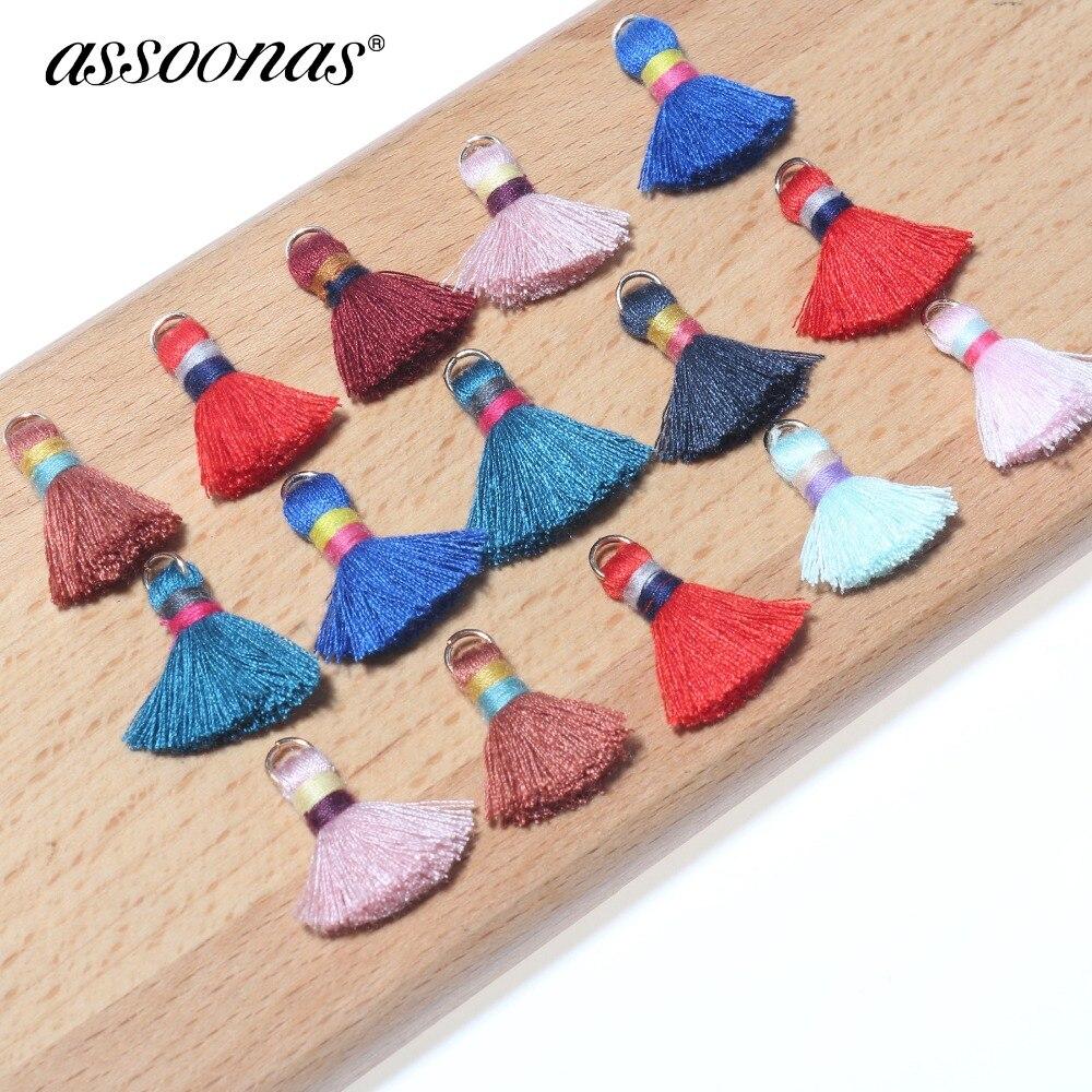 Assoonas L188,tassels,cotton Tassel,jewelry Accessories,earrings Accessories,hand Made,jewelry Making,diy Earrings,20pcs/lot