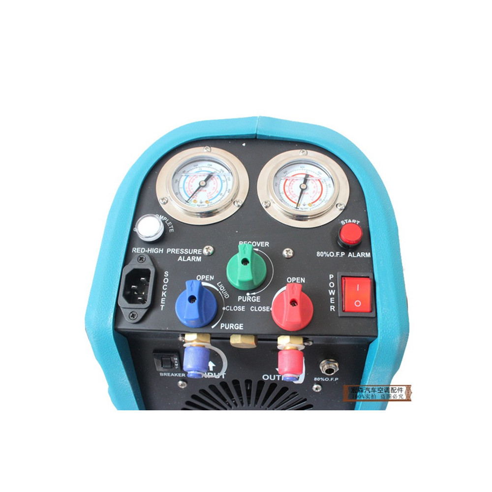Air conditioning refrigerant recovery machine,Compressor refrigerant charging machine,refrigerant recovery unit operation manual