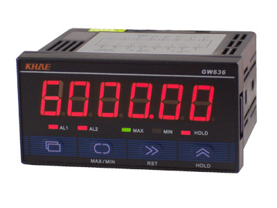 GW636 Pulse Meter/Counter/Tachometer/RS232 Communication MODBUS Protocol/Power 24V AC/DCGW636 Pulse Meter/Counter/Tachometer/RS232 Communication MODBUS Protocol/Power 24V AC/DC