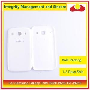 Image 1 - Per Samsung Galaxy Core I8260 I8262 GT I8262 GT I8260 Dellalloggiamento Del Portello Della Batteria Posteriore di Caso Della Copertura Posteriore Telaio Borsette di Ricambio