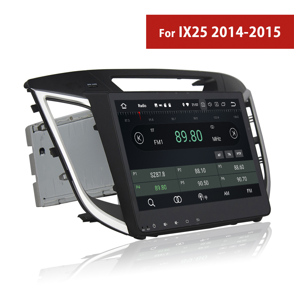 Double Din Android Car Stereo Bluetooth For Hyundai IX25