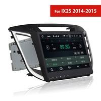 Double Din Android Car Stereo Bluetooth for Hyundai IX25 2014 2015 GPS Navigation TV 3G WIFI AUX USB Autoradio DVD Player