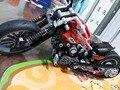 2016 ГОРЯЧАЯ 378 Шт. Technic Мотоциклетная Exploiture Модель Harley Автомобиль Кирпич Строительный Блок Набор Игрушек Подарок leping brinquedos
