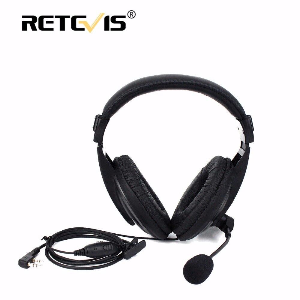 New Retevis R 114 PTT VOX Headset Earpiece For Kenwood For Baofeng UV 5R Bf888S For