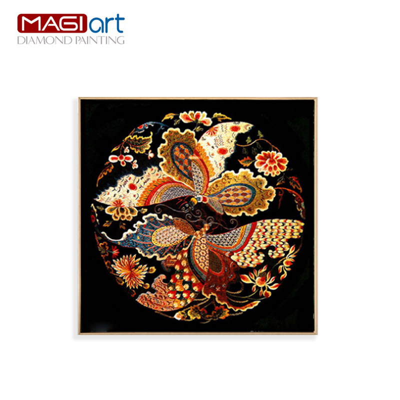 Diamond painting accessories Diamond embroidery 5D DIY mosaic Diamant picture of rhinestones full round daimond flowers
