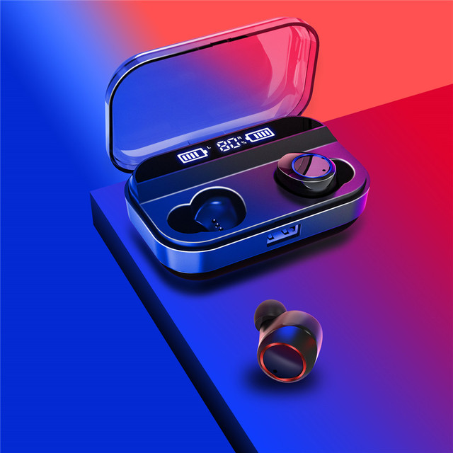 X11 TWS Bluetooth Headset edition Binaural Mini Earbuds In-Ear HIFI Bluetooth 5.0 IPX7 Waterproof Earphones Super endurance
