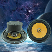 6.5 inch Vehicle Loudspeaker Pure Copper Voice Coil Wire 40W 4ohm Midrange Frequency Universal Sensitive Car Speaker