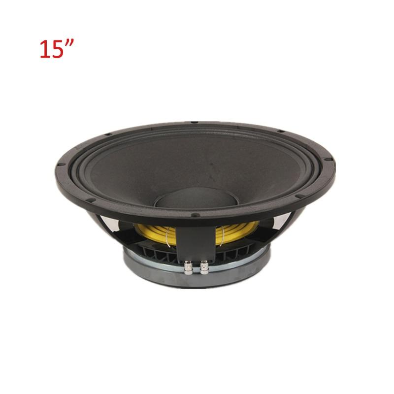 Высокое качество HiFi динамик 15 дюймов 5000 Вт 8Ohm Sub громче динамик s для 5,1 Домашний кинотеатр музыка стерео сабвуфер НЧ динамик