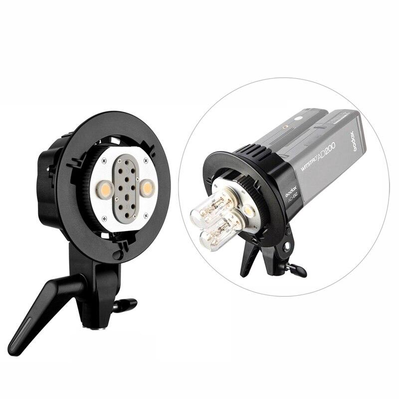 Godox AD B2 Double Tubes lumière tête Bowens support de montage pour deux AD200 200Ws 2.4G TTL poche Flash Flash stroboscope-in Clignote from Electronique    1