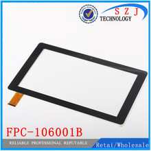 "Original 10,1 ""pulgadas Tablet PC FPC-106001B pantalla táctil capacitiva panel para cubo i10 Sensor de cristal digitalizador envío gratis(China)"