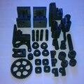 Уоллес Reprap 3D принтер Печатной части полный комплект Уоллес Пластиковые Части с Экструдер Печатные Части (32 шт.)-белый/Черный Опционально