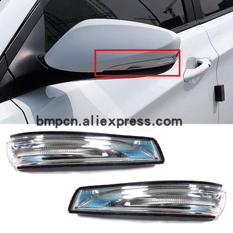 LH Left Driver Side Black Turn Signal View Mirror For Hyundai Tucson 2016-2018 c