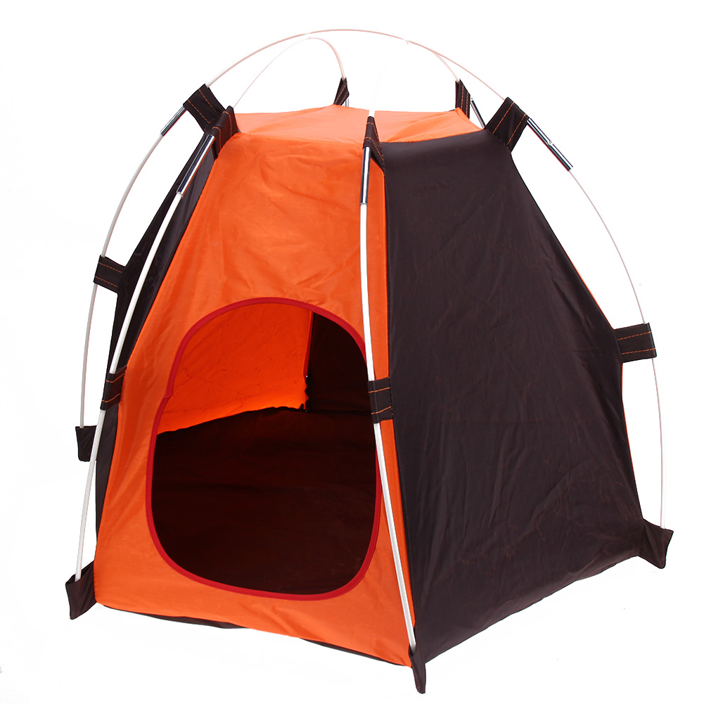Waterproof Portable Folding Pet Tent Dogs Cats Bed House Play Fun Indoor Outdoor Camping Tent Equipment Camping Barraca Spare No Cost At Any Cost Camping & Hiking Tents & Shelters