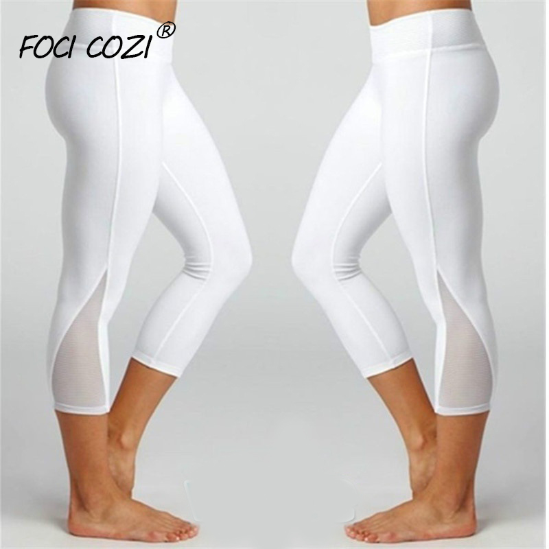 Summer Clothes For Women Short   Leggings   Women Workout   Leggings   Sport Leggins Gym Mesh/Blue/White/Black   Leggings   For Fitness