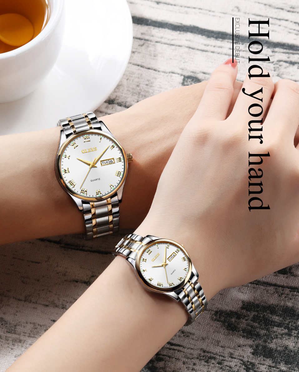 marca de luxo relógio relogio masculino relógio à prova d' água