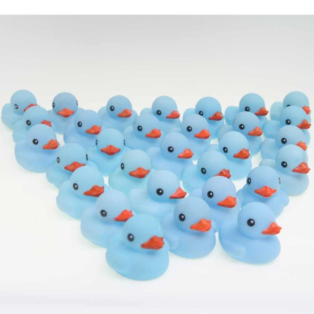 20 штук оптовая продажа плавающие резиновые Резиновые Игрушки для маленьких девочек Любимое детское платье Синий плавучий king утки подарок игрушки выжать