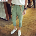 Fashion Jumpsuit Men Casual Pants Multi Pockets Hip-Hop Overalls for Men Black Green Outdoors Long Trousers M-5XL