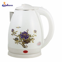 YJ HUMIDIFIER 2L Electric Teapot Heat Electric Water Stainless Steel Electric Kettle Auto Off Health Preserving