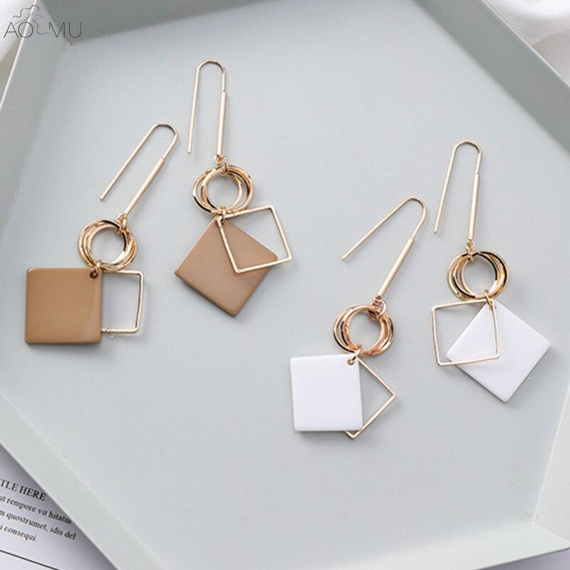 Long Hook Dangle Earrings for Women
