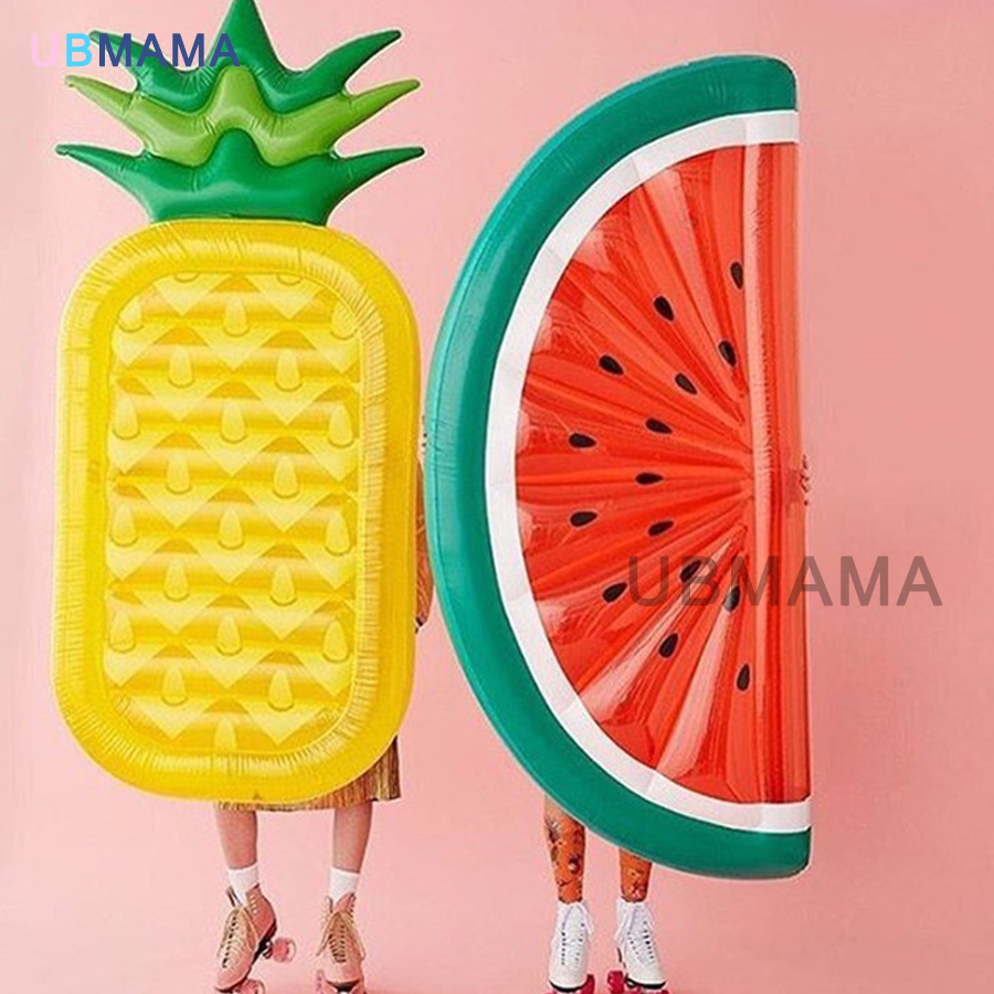 High quality watermelon bed float fashion swimming ring inflatable floating row accessories PVC inflatable water toys kingwei 1pcs dc 16 8v 1a ac 100v 240v converter switching power adapter supply eu us uk plug charger for 18650 lithium battery