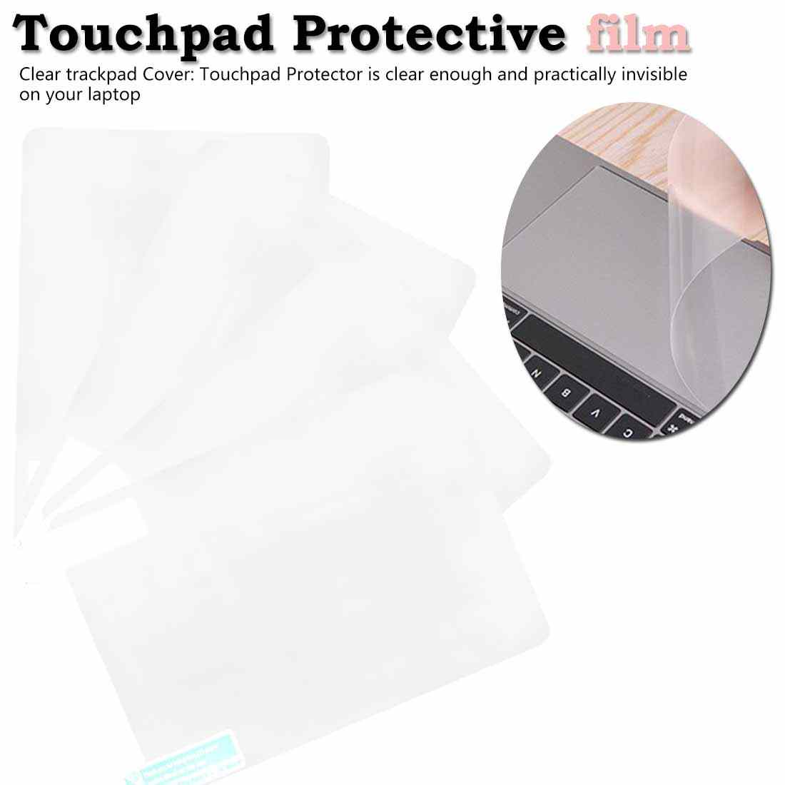 Protecteur d'autocollant de film protecteur de Touchpad transparent élevé pour Apple macbook air pro 11/13/15 tactile 12 film de protection de touchpad