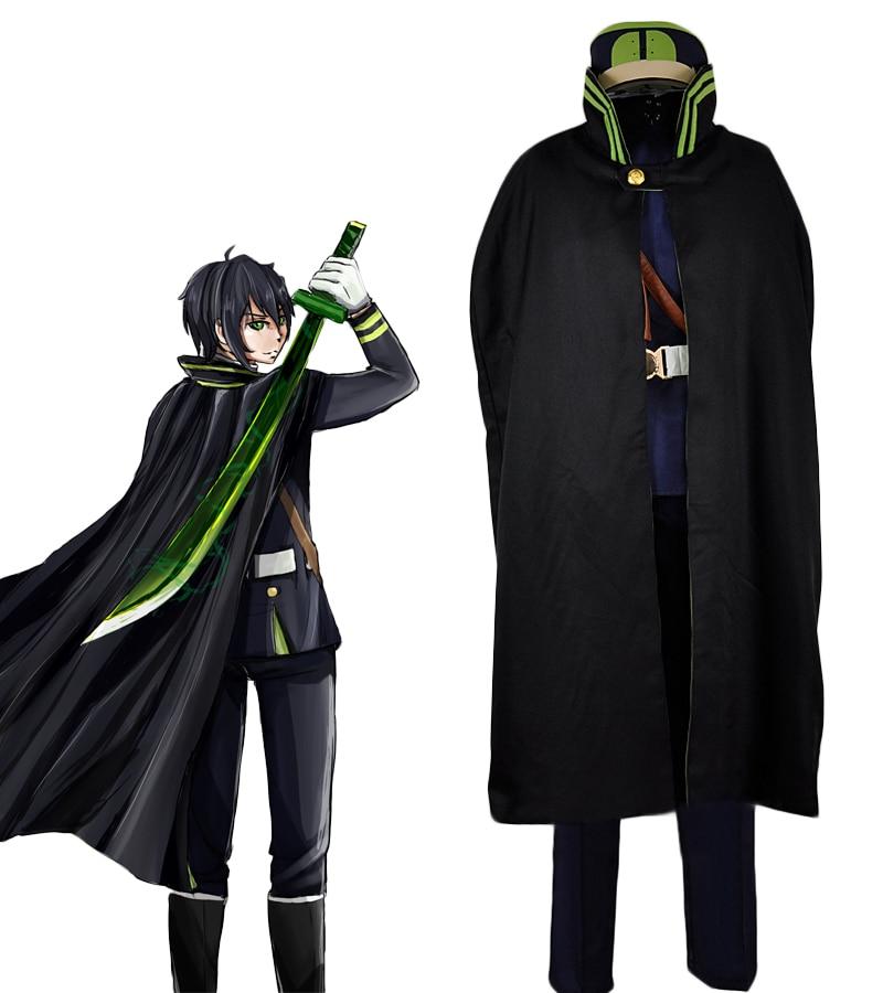 Seraph of the End Yuichiro Hyakuya Guren Ichinose Uniform Cosplay Costume in Anime Costumes from Novelty Special Use