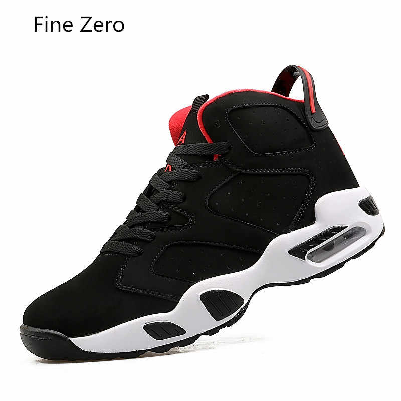 2019 Newest Men Basketball Shoes Comfort High top Cushion Sports Shoes Women Sneakers Basket Homme Femme Couple Shoes Size 35-45