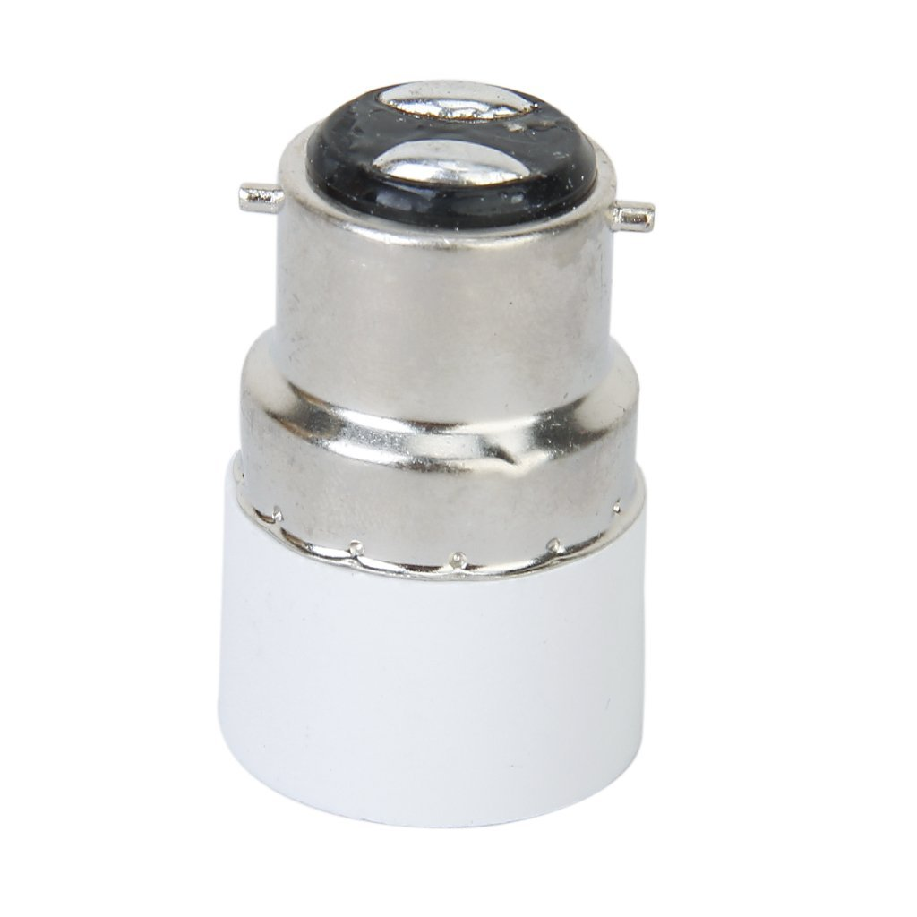 B22 to E14 Screw LED Light Bulb Socket Adapter Converter
