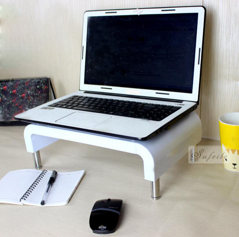 Portable Laptop table bracket support display higher base frame Desktop Computer Notebook table Monitor Stand D5 for apple macbook desktop monitor base notebook stand bracket computer elevated frame storage frame artifact