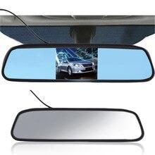 """5 """"TFT Digital de Pantalla LCD Resolución 800480 16:9 Espejo Retrovisor Monitor Del Coche Auto de la Seguridad de La Cámara DVD VCR"""