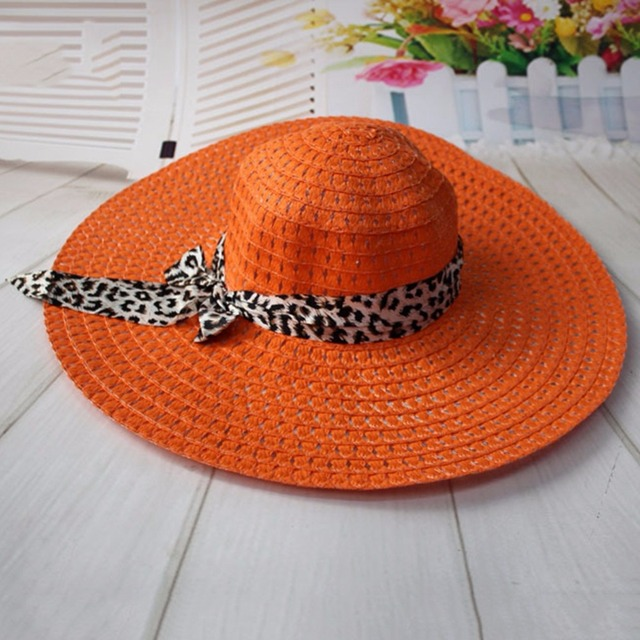 535a0968c4a6bf New Wide Brim Floppy Fold Sun Hat Summer Hats for Women Out Door Sun  Protection Straw Hat Women Beach Hat