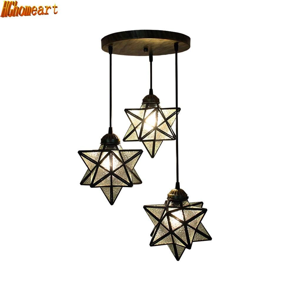 Modern Simple Fashion Restaurant Lights Three Living Room Bedroom Fashion Chandelier LED Dining Room Energy Saving Lamp