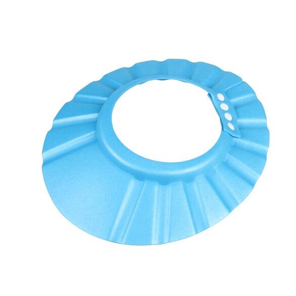 EVA foam Adjustable Baby Shower Cap 34-45cm Adjust Child Kids Bath Shower Cap Hat Hair Shield Shampoo Shower Bath Protect