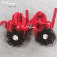 Lady Bug Halloween Outfit Match Red Black Baby Shoes Christening Prop Photo Celebrity Etsylush Sewing Handmade First Walkers 0 1