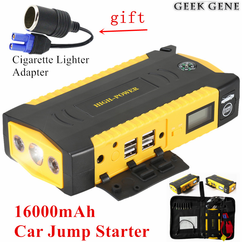 2017 Starting Device Mini Car Jump Starter 12V 600A Pack Car Charger For Car Battery Booster