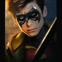 New Bat man Superman Mask Cosplay Halloween Nightwing prop
