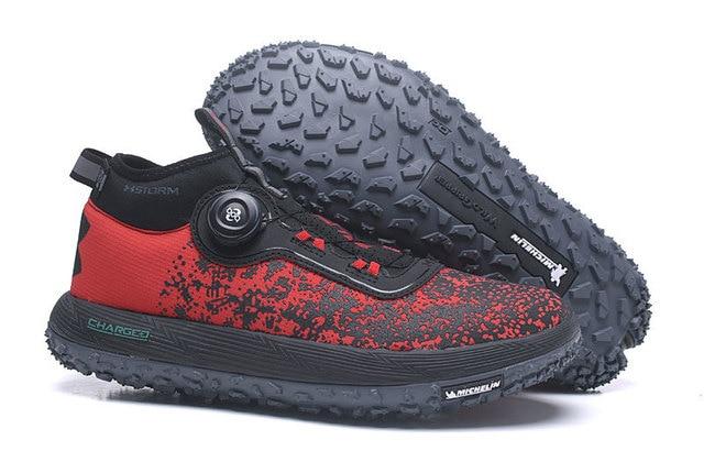 2018 Musim Panas Under Armour UA Pria Ban Ban Ban 2 Sepatu Lari Breathable Olahraga Outdoor Sepatu Sepatu Pria