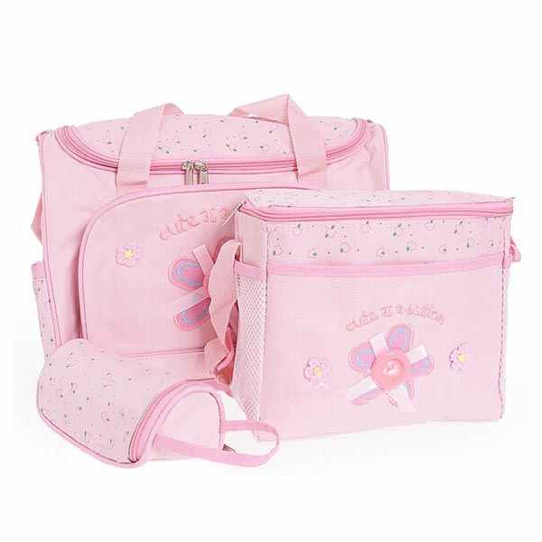 Mummy Car Pattern Baby Care Diaper Bags Multi-function Storage Handbag Diaper Bags